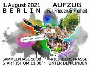 Demo 01.08. Berlin | Teilnahme | Bustransfer